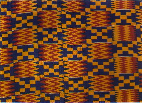 Kente  - Hand Wooven Fabric